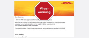 2017-09-07 DHL Express Spam Virus