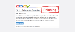 2017-09-08 eBay Phishing Spam-Mail Neue Nachricht von Ihrem eBay Kundenservice