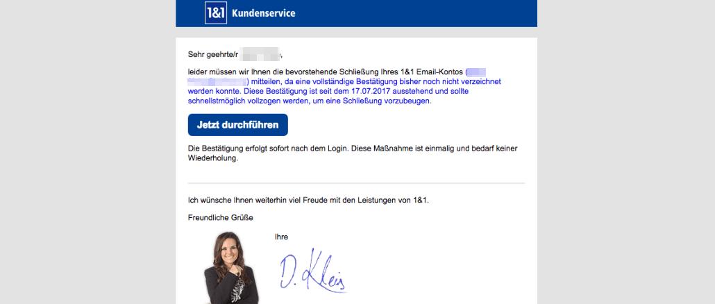1und1 e mail