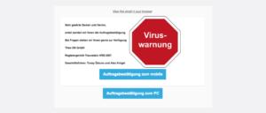 2017-09-28 Spam Virus Auftragsbestaetigung
