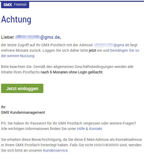 2018-09-10 GMX Phishing