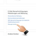 Amazon E-Mail Spam, Phishing, Fake oder echte Nachricht