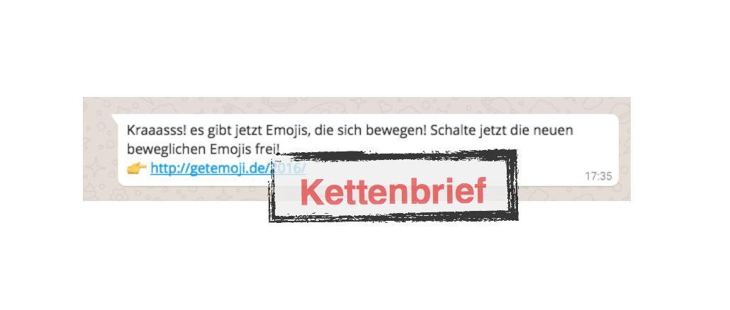 Emojis Kettenbrief WhatsApp