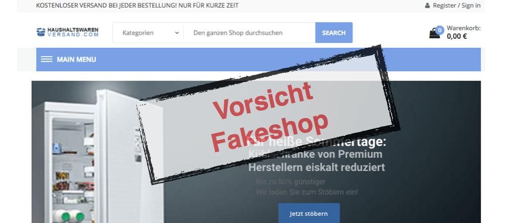 Fakeshop Haushaltswarenversand.com