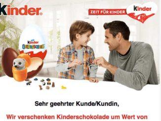 Gewinnspiel Kinderschokolade