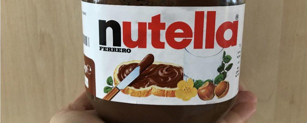 Großes Nutella Probierpaket: Gewinnspiel ist nicht von Ferrero