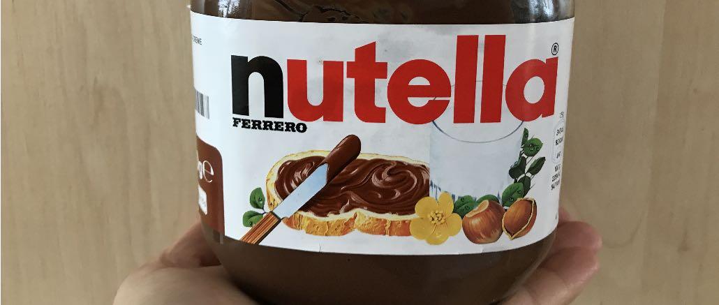 Gewinnspiel Nutella Probierpaket nicht von Ferrero