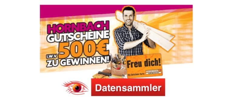 Hornbach Gewinnspiel Datensammler_log