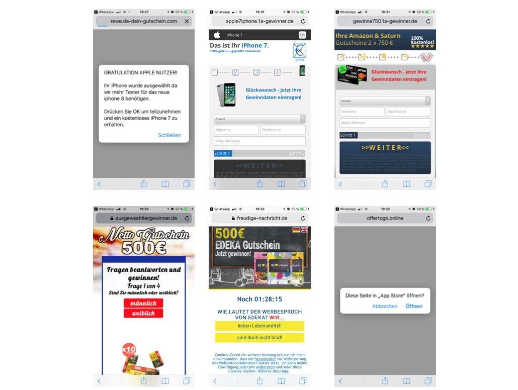 Rewe Gutschein Gewinnspiel Webseiten