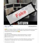 Saturn Gewinnspiel Facebook Fake