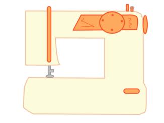 Symbolbild Nähmaschine