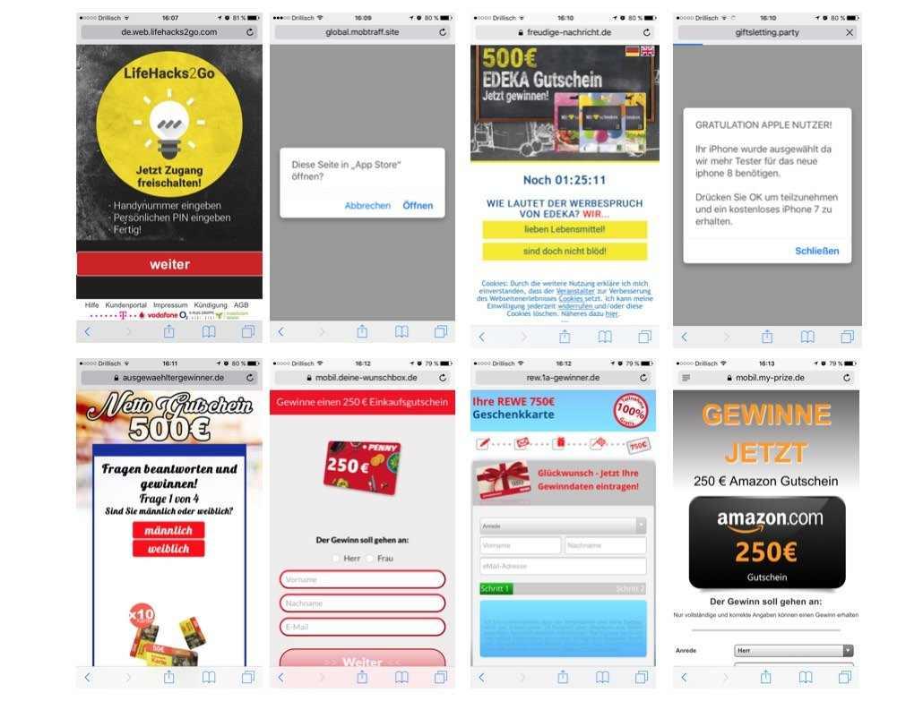 Webseiten Whats App Kettenbrief