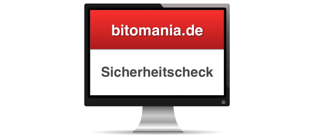 bitomania.de sicher unsicher Check