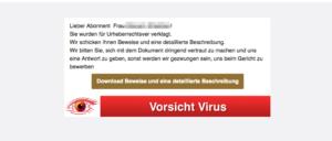 2017-10-11 E-Mail Spam Abmahnung Virus