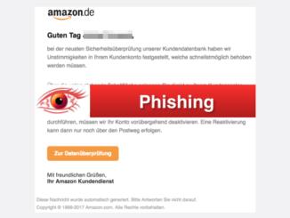 2017-10-17 Amazon Spam Wichtige Kundenmitteilung