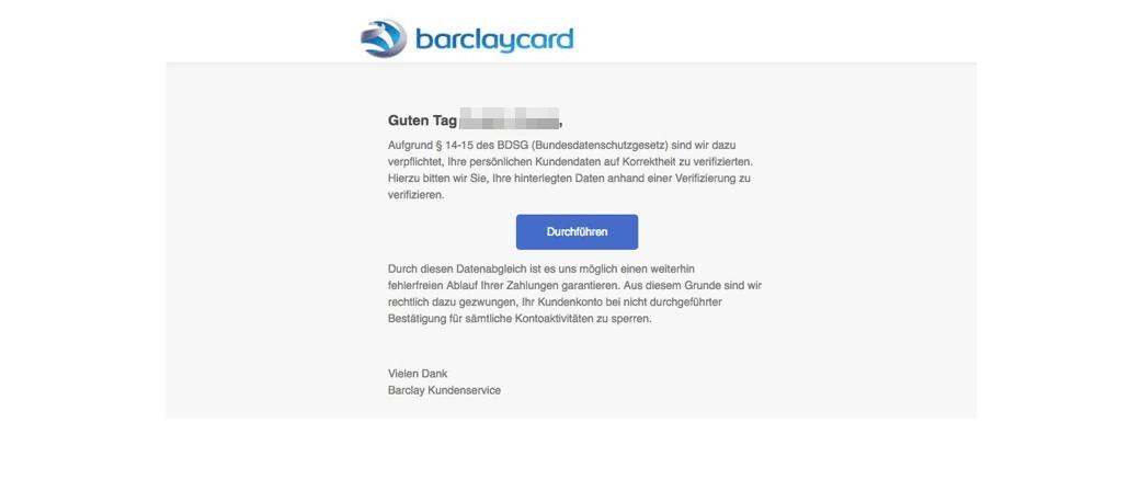2017-10-23 BarclayCard Phishing