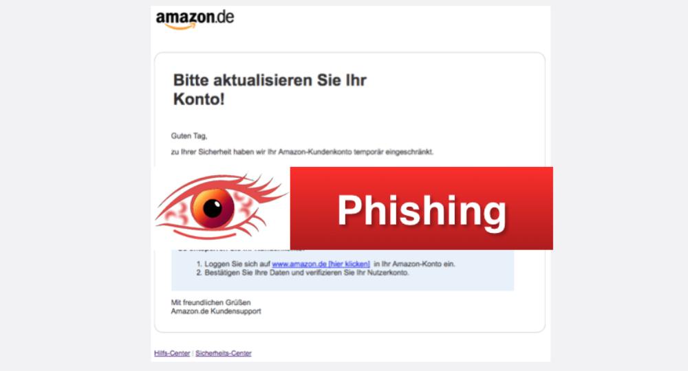 Amazon-Phishing: Gefälschte E-Mails im Namen des Versandhändlers (Update)