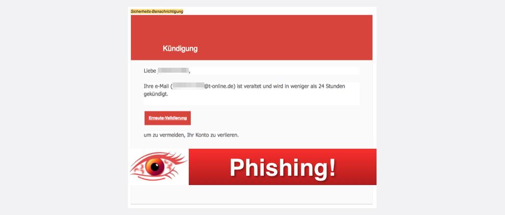 2017-11-02 T-Online Spam Mail Konto gesperrt