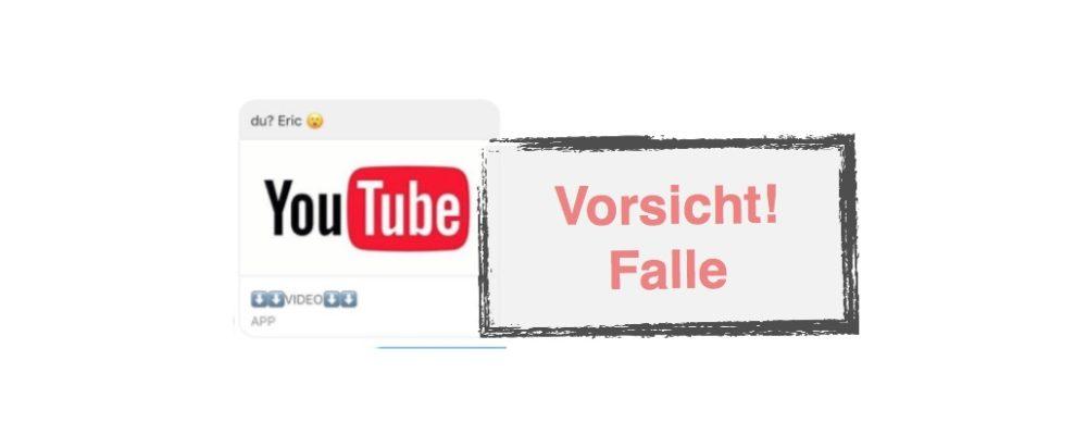 Facebook Messenger: YouTube-Link von Freunden nicht anklicken – Gefährlich