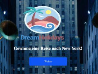 Gewinnspiel Resie nach New York