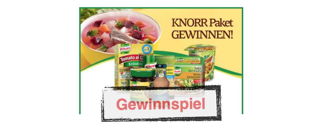 Knorr Gewinnspiel toleadoo GmbH