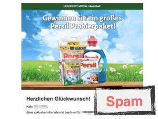 Persil Probierpaket Lead Spot Media GmbH