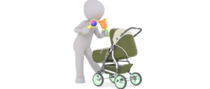 Symbolbild Kinderwagen, Baby, Kleinkind