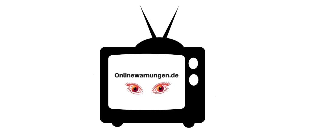 Symbolbild Onlinewarnungen Fernseher