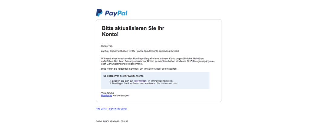 2017-11-07 PpayPal Phishing