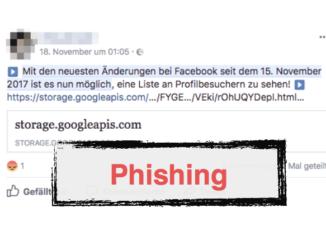 2017-11-20 Facebook Phishing
