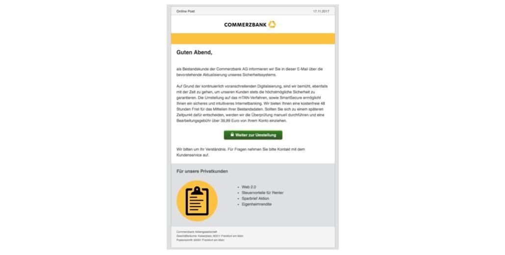 2017-11-20 Phishing Commerzbank