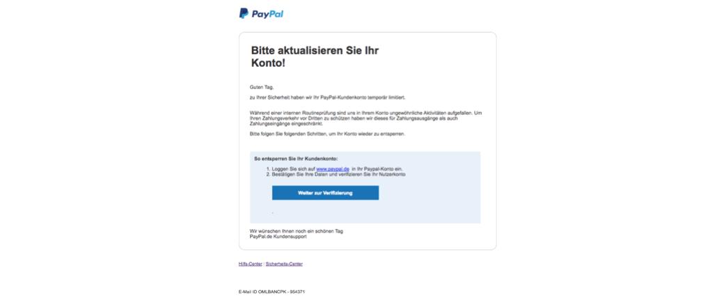2017-11-24 Phishing PayPal