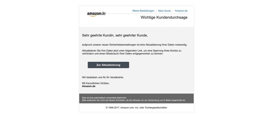 2017-11-27 Amazon Phishing