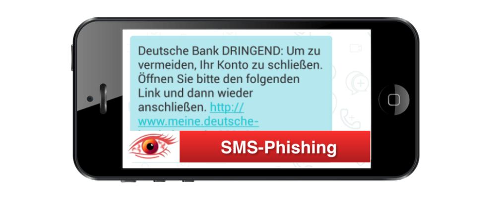 Achtung: SMS der Deutschen Bank ist Phishing (Update)