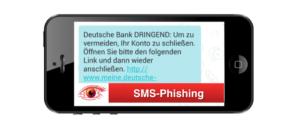 2018-03-15 SMS Phishing Deutsche Bank Konto gesperrt