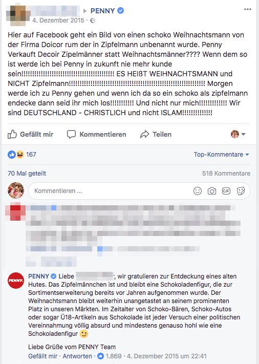 Penny Zipfelmann Diskussion