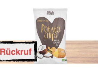 Rückruf Kartoffelchips Alnatura
