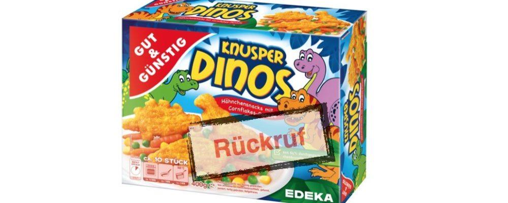 Edeka/Marktkauf: Rückruf der Knusper Dinos der Marke GUT&GÜNSTIG