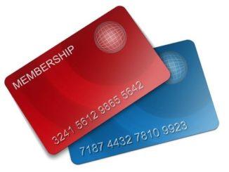 Symbolbild Mitglied, Mitgliederkarte