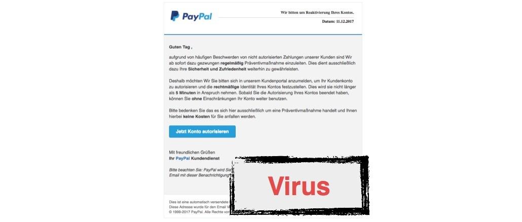 2017-12-12 PayPal Phishing