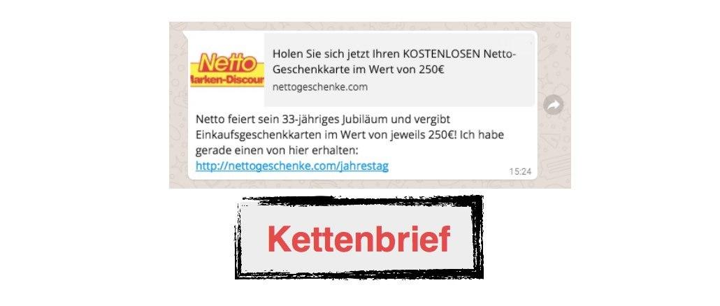 Netto Gutschein 250 Euro
