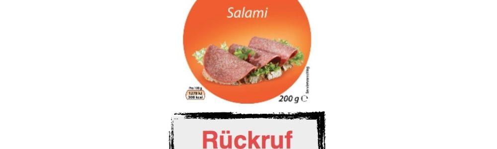 Globus ruft die Korrekt Salami (Eigenmarke) zurück – Salmonellen