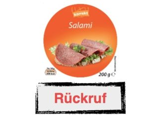 Rückruf Globus Korrekt Salami