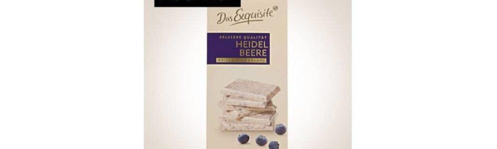 Rückruf Rossmann: Das Exquisite Heidelbeere Weiße Schokolade