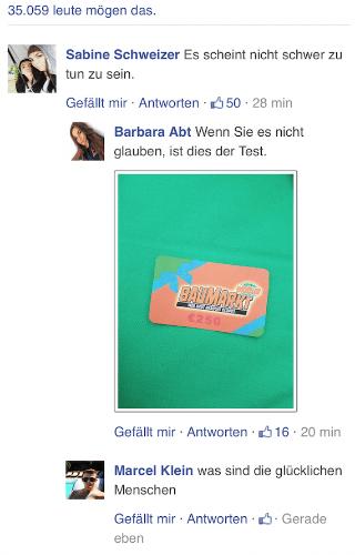 WhatsApp Globus Baumarkt Kommentare