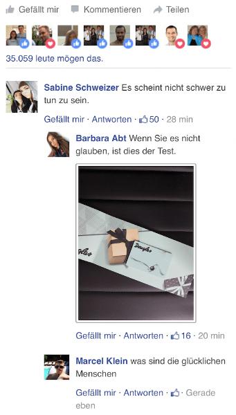 WhatsApp Kettenbrief Einkaufsgutschein 300 Euro Kommentare