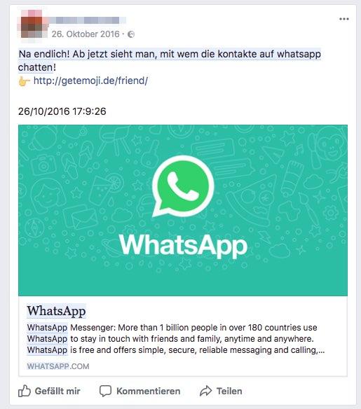 WhatsApp Update Kettenbrief