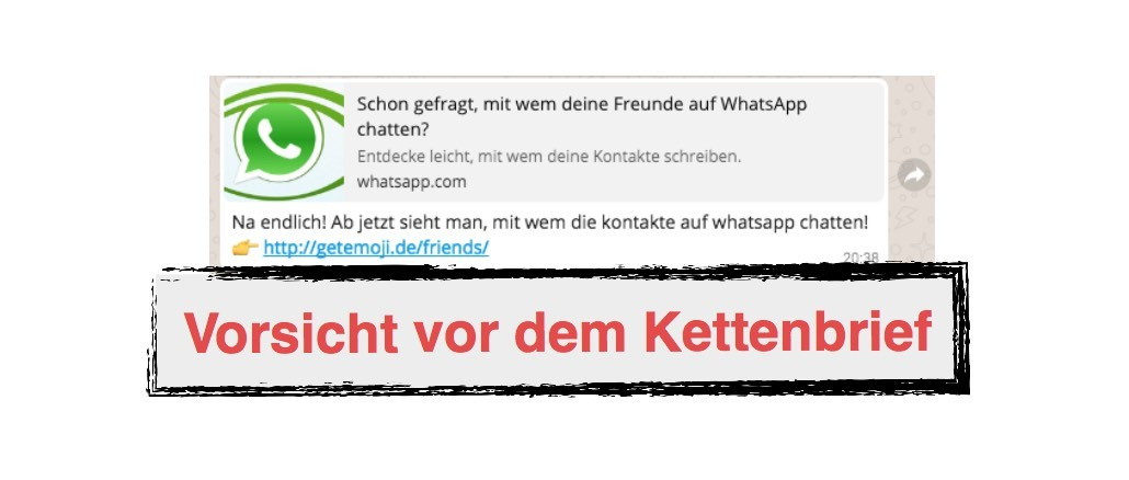 WhatsApp Update Kettenbrief