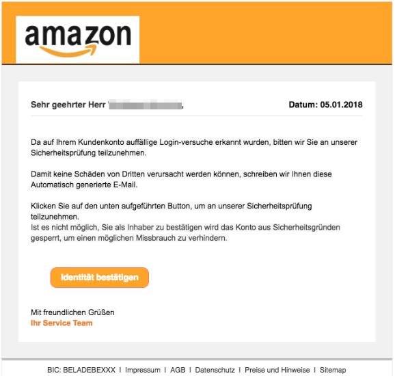 2018-01-05 Amazon Spam Login-Versuche