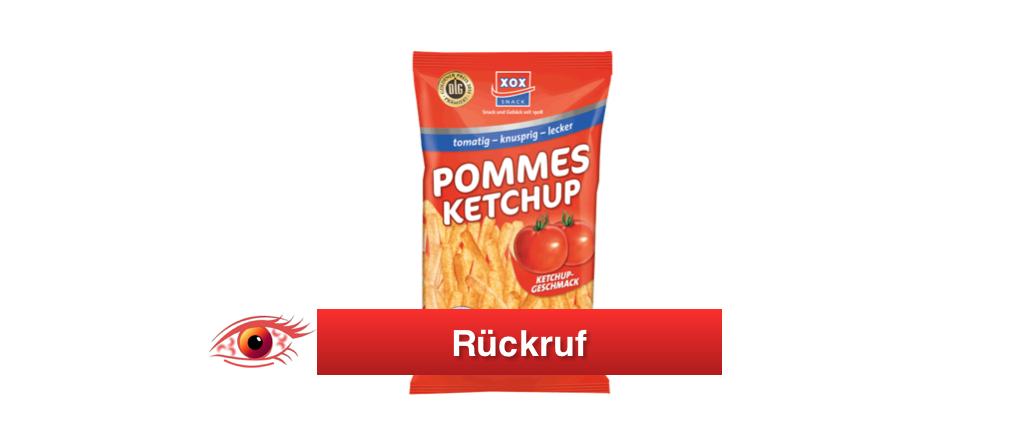 2018-01-10 Rückruf XOX Snacks